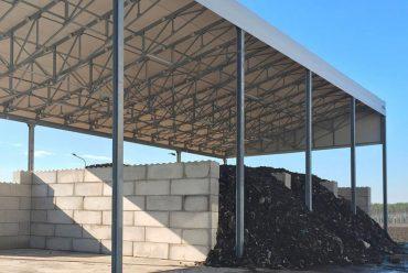 Box di contenimento per il riciclaggio dei rifiuti