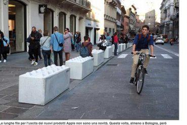 Corriere di Bologna – Barriere di Cemento antiterrorismo