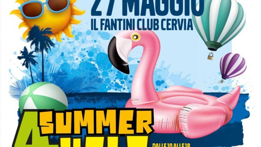 QBLOCK® sponsor principale al Summer4Help di Cervia presso il Fantini Club