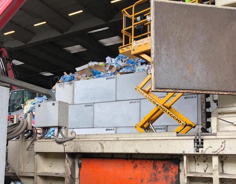 Raccolta, gestione e recupero rifiuti non pericolosi – QBLOCK®
